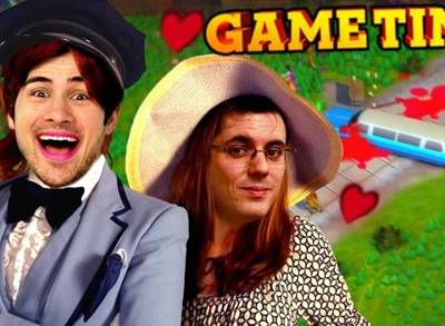 News video: Gametime with Smosh Games: Limo Driving School in Roundabout